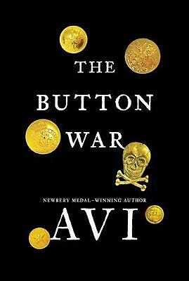 The Button War: A Tale of the Great War Hardcover Book Free Shipping!