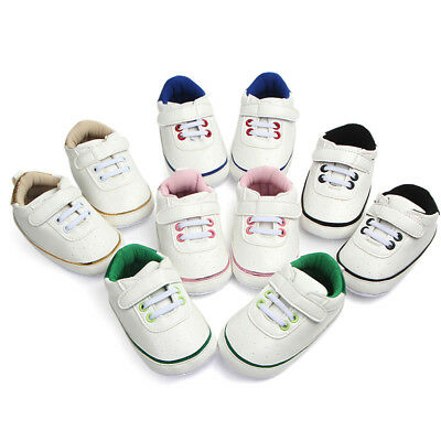 Baby Newborn Kid Boy Girl Ankle Boots Crib Casual Sports Shoes Anti-slip Sneaker