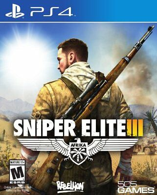 Ps4 - Sniper Elite 3 - Game  40VG The Cheap Fast Free Post