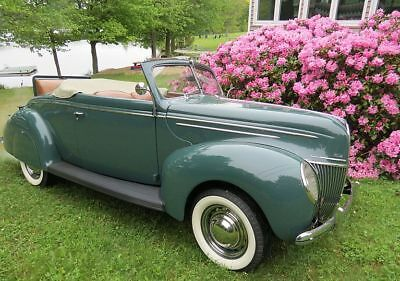 1939 Ford Deluxe convertible coupe Deluxe Convertible 1939 Ford Deluxe RARE Convertible