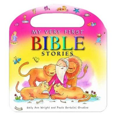 My Very First Bible Stories - Board book NEW Sally Ann Wrigh 2014-09-19