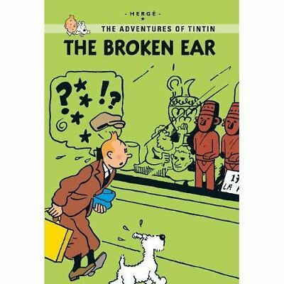 The Broken Ear - Paperback NEW Herge 2013-05-06