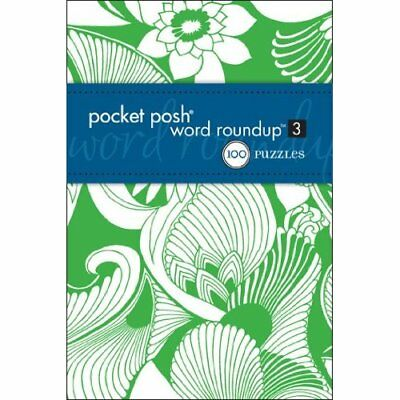 Pocket Posh Word Roundup 3 - Paperback NEW The Puzzle Soci 2012-03-15