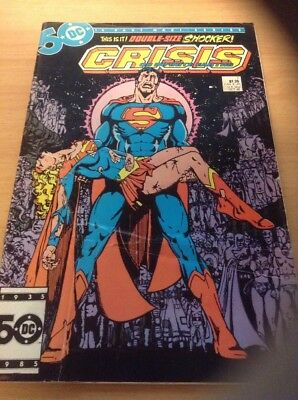 CRISIS ON INFINITE EARTHS #7 (1985) Death Of SUPERGIRL