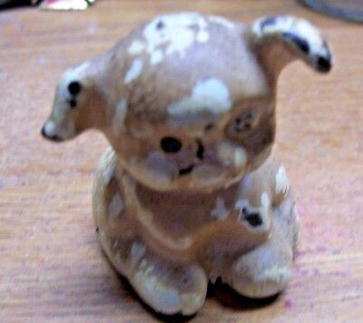 Old/Vintage Painted Metal/Cast-Iron Small Pup/Puppy/Dog Lot#E2A