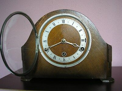 Antique Perivale 8 Day Westminster Chimes Mantle Clock Repairs