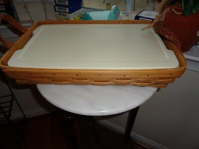 Longaberger  Serving Solutions 9 X 13 Basket With Protector