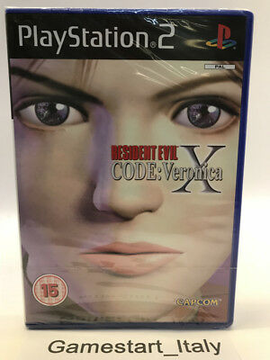 Resident Evil Code Veronica X - Sony Ps2 Playstation 2 - New Sealed Pal Version