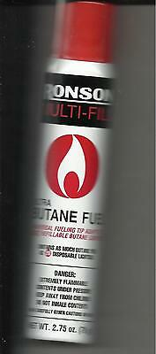 Ronson Multi-Fill Ultra Butane Fuel Net Wt. 2.75 78 Gram Lighter Refill Usa