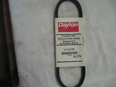 4L270H DAYTON 4L270 oil resistant BELT ships from here in USA