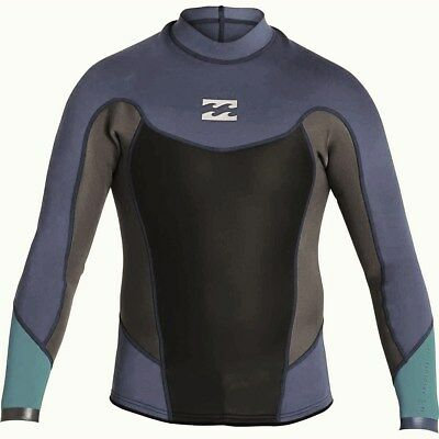 b4b42d8a50 BILLABONG MEN S 202 ABSOLUTE L S Neoprene Top - BIJ - XXL - NWT -  78.00