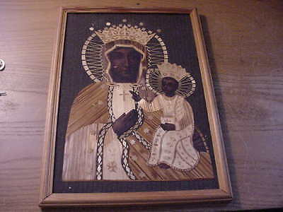 "Russian Religious Icon ""Our Lady of Kazan and Jesus"""