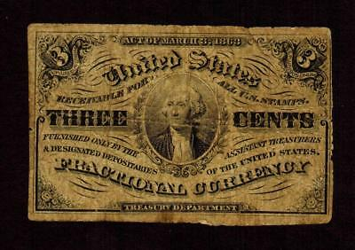 3 Cent Fractional Currency Third Issue **MORE CURRENCY FOR SALE**