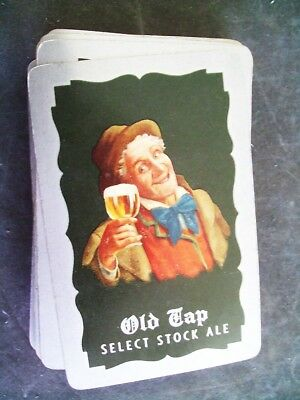 Old Tap Select Stock Ale Playing Cards Enterprise Brewing, Fall River, MA. Logo