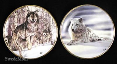 2  Mini WOLF Plates Al Agnew A Second Glance & Solitude