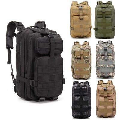 Sport Rucksack 30L Military Tactical Backpack 3P Marching Bag Waterproof Hiking