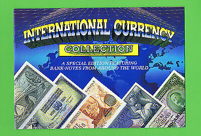 #D401.  International Banknote Currency Collection & Folder
