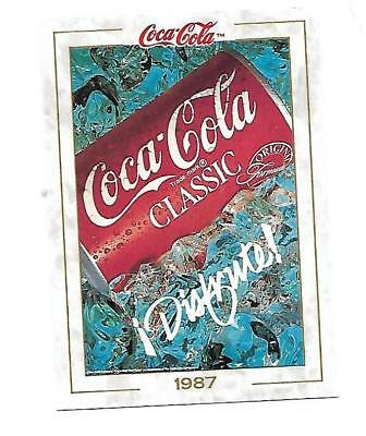 Coca Cola Collection (1993) 1987 # 93 Coca Cola Classic Hispanic Advertisement