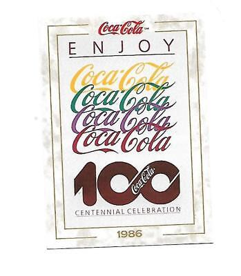 Coca Cola Collection (1993) 1986 # 90 100th Anniversary Celebration