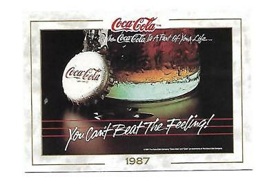 Coca Cola Collection (1993) 1987 # 94 You Can't Beat the Feeling