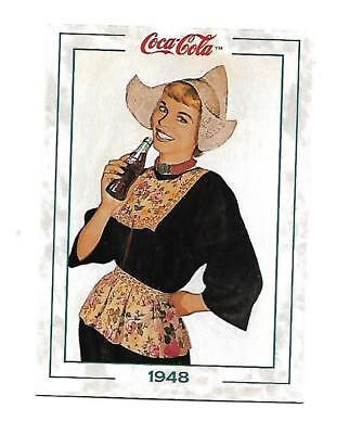 Coca Cola Collection Series 2 (1994) 1948 # 168 Dutch Girl Remie Hammon