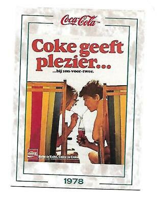 Coca Cola Collection Series 2 (1994) 1978 # 149 COKE GEEFT PLEZIER Beach Holland