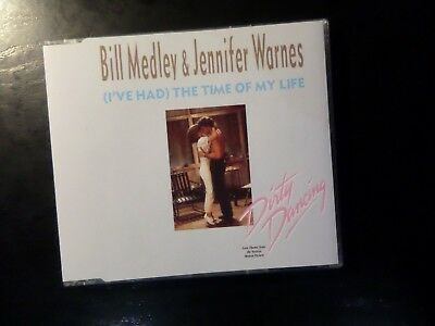 Cd Single - Bill Medley / Jennifer Warnes - Ive Had The Time Of My Life