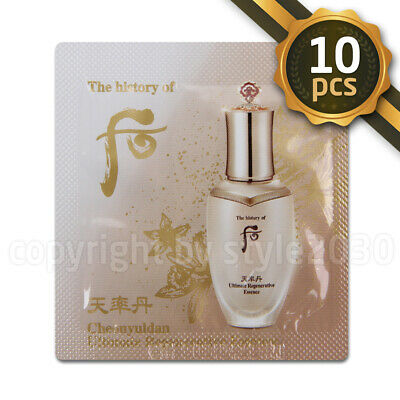 [The history of Whoo] Cheonyuldan Ultimate Regenerating Essence 1ml x 10pcs