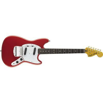 Squier Vintage Modified Mustang Electric Guitar, Fiesta Red #0372200540