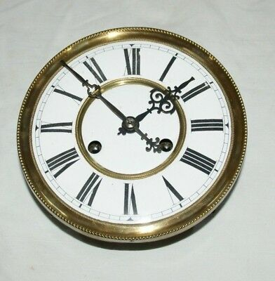 Antique Vienna Wall Clock Movement & Face - Restoration