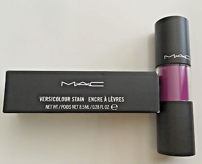 Mac Versicolour Stain Lip Gloss (Choose Your Style) New - Full Size - 0.28 Oz