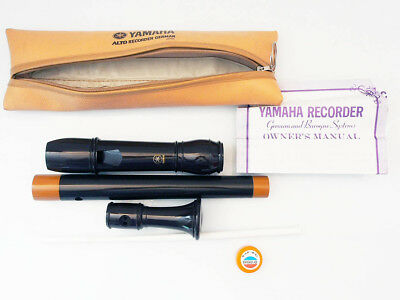 Flöte Yamaha Alto Recorder German and Baroque System