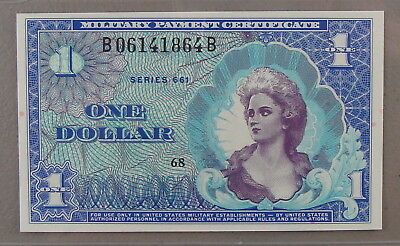 1968-69 Series 661 $1 Military Payment Certificate Pack Fresh Gem Uncirculated