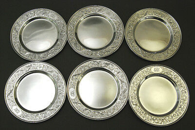 Fine 6 Pc Birks Sterling Silver Tea Dishes