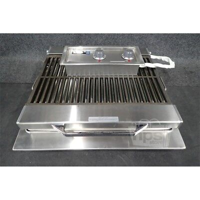 "Wells B406 Stainless 24"" Electric Built In Charbroiler 240V, 5400W, 5H-B406-240*"
