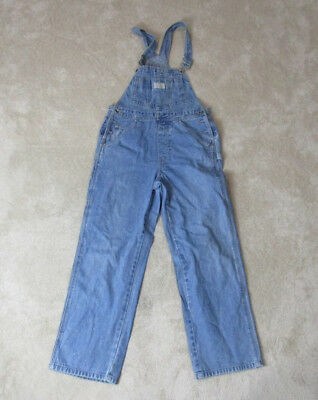 7be763e035a VINTAGE Levis Silver Tab Overalls Adult Medium Coveralls Work Wear Blue Men  RARE