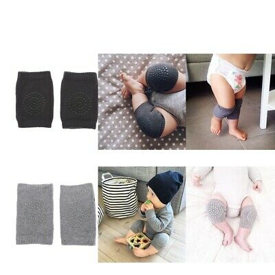 2Pcs Safety Crawling Knee Elbow Pads Leg Protector Anti-Slip for Infant Kids