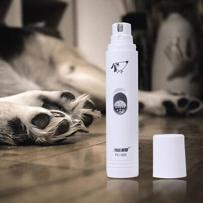 Dog Cat Nail Trimmer Grooming Tool Care Grinder Electric Clipper USB Charging