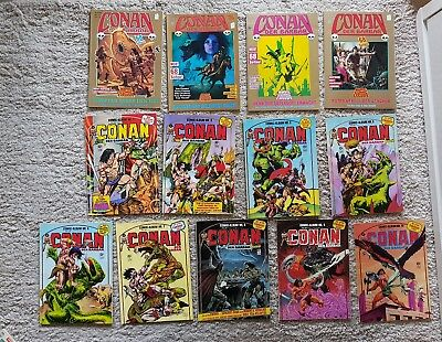 Sammlung Konvolut Conan der Barbar Comic Alben Album Marvel Comic Exclusiv etc.
