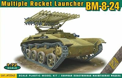 ACE 72542 - 1:72 BM-8-24 multiple rocket launcher - Neu