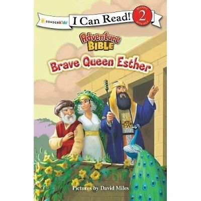 Brave Queen Esther (I Can Read! / Adventure Bible) - Paperback NEW David Miles (
