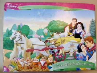 Collectable Doll - Boxed & Unused Simba Walt Disney Snow White Wedding Carriage
