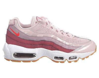 taille 40 a4338 47a99 NIKE AIR MAX 95 Gel Womens 307960-603 Barely Rose Wine Running Shoes Size  6.5