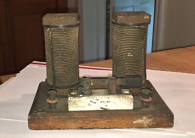 Antique 1900's-10's Toy? Electric Transformer-Generator All Original And Beauty!