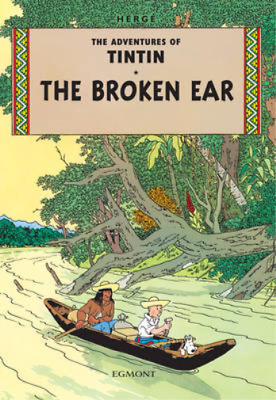 The Broken Ear (The Adventures of Tintin), Herg�, Used; Good Book