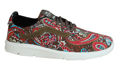bd1af0a3f1 Vans Iso 1.5 Paisley Olive Mens Trainers Lace Up Shoes Textile XB8I2U D37
