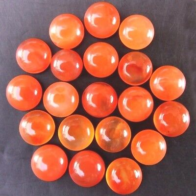 Wholesale Lot 3.2mm Round Cabochon Natural Carnelian Loose Calibrated Gemstone