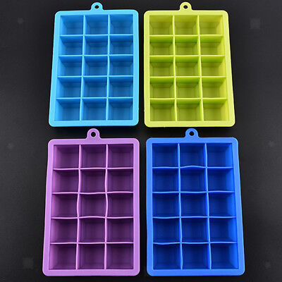 Whiskey Ice Ball Cube Maker Tray Sphere Mould Mold Party Brick Round Bar