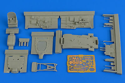 Aires 4728 - 1:48 P-40B Warhawk cockpit set for Airfix  - Neu