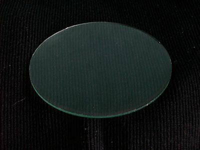 """4"""" Replacement Clock Glass Flat Bevelled Ground Edge New Old Stock"""